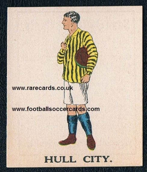 1923 Battock's Hull City card